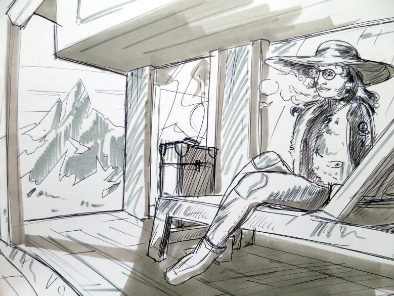 illustration montagne ttt